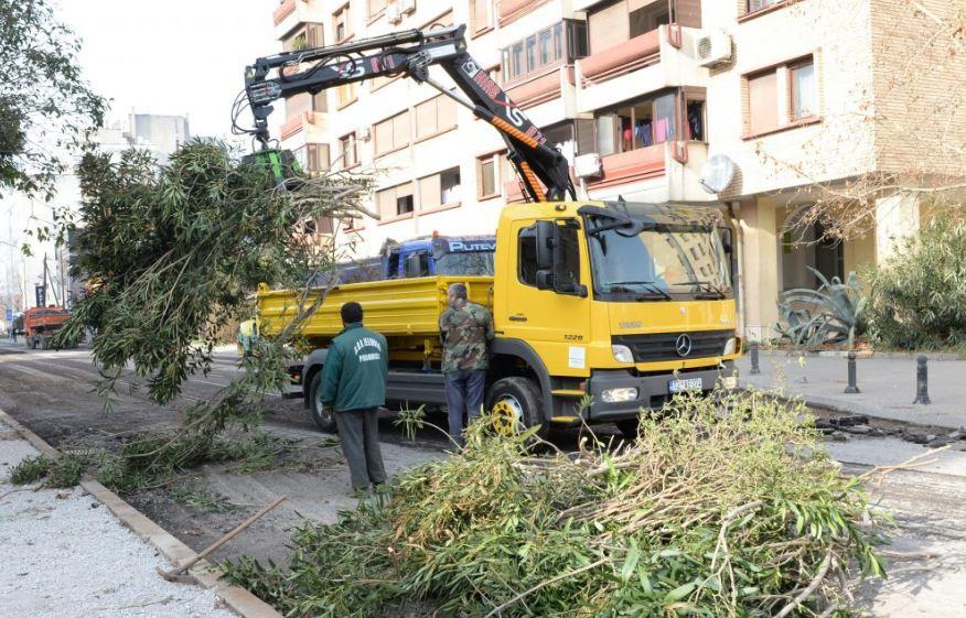 Ulica Oktobarske revolucije dobiće i novi zeleni pojas