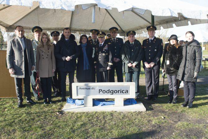 U čast nove članice Alijanse: U Belgiji otvorena Ulica Podgorica