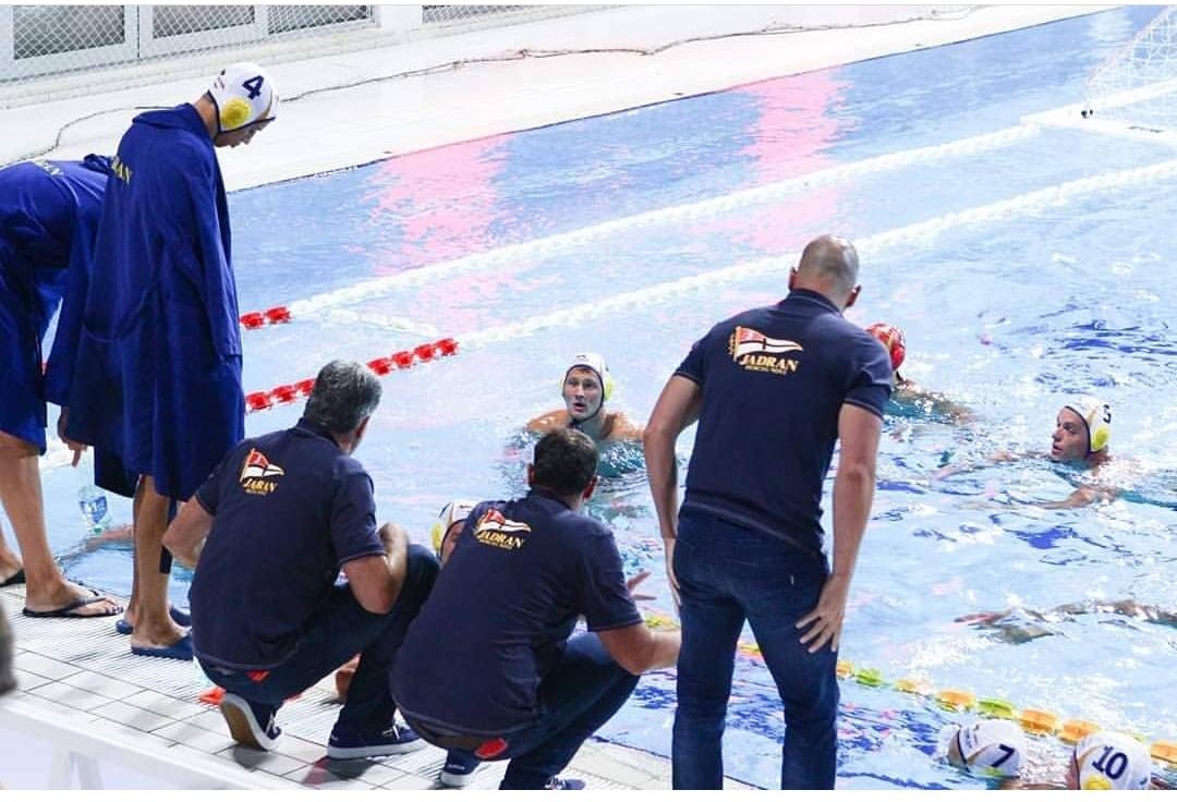 Jadran poražen na startu Lige šampiona