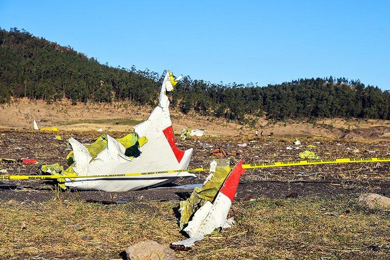 """Već viđeno? Stabilizator aviona bio u """"čudnom"""" položaju"""