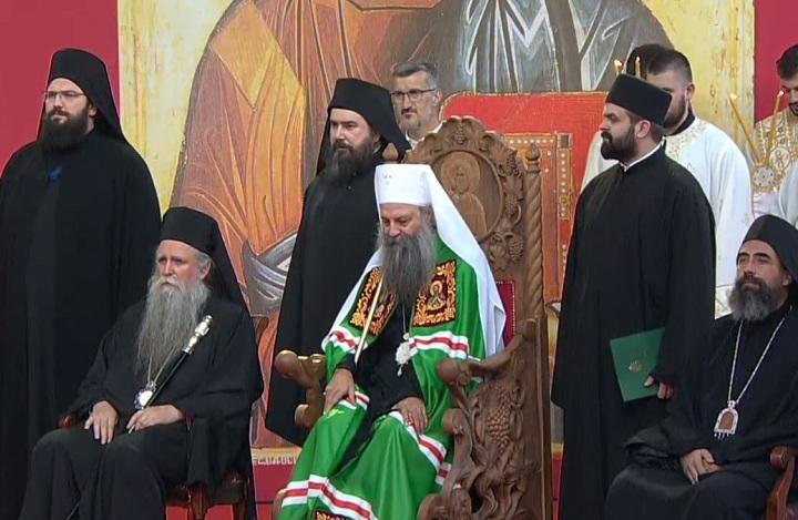 Perić opet provocira: I dalje će Crkva Srbije ustoličavati na Cetinju, Vasojevići najveće srpsko pleme