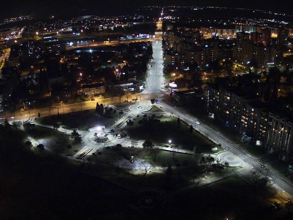 Park na Pobrežju dobio novu rasvjetu