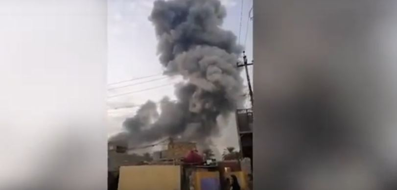 Bagdad: Eksplozije u skladištu oružja, ima poginulih
