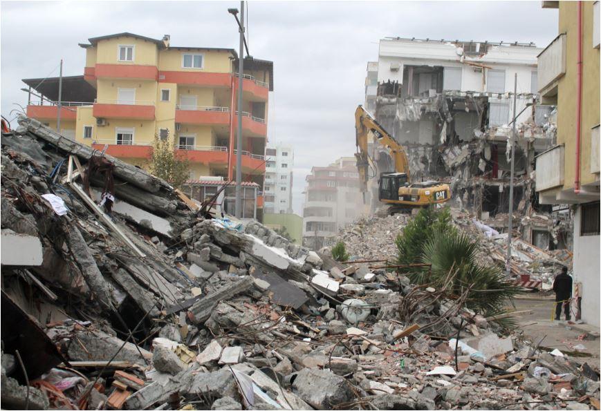 Hapšenja u Albaniji nakon zemljotresa