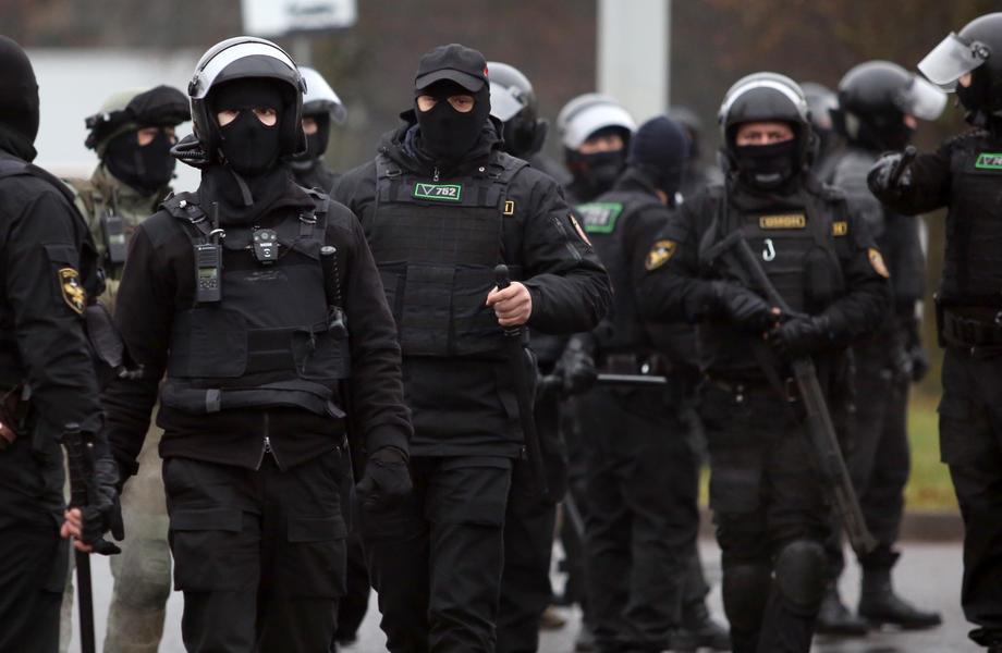 Novi protest protiv Lukašenka u Minsku, na ulicama velike policijske snage