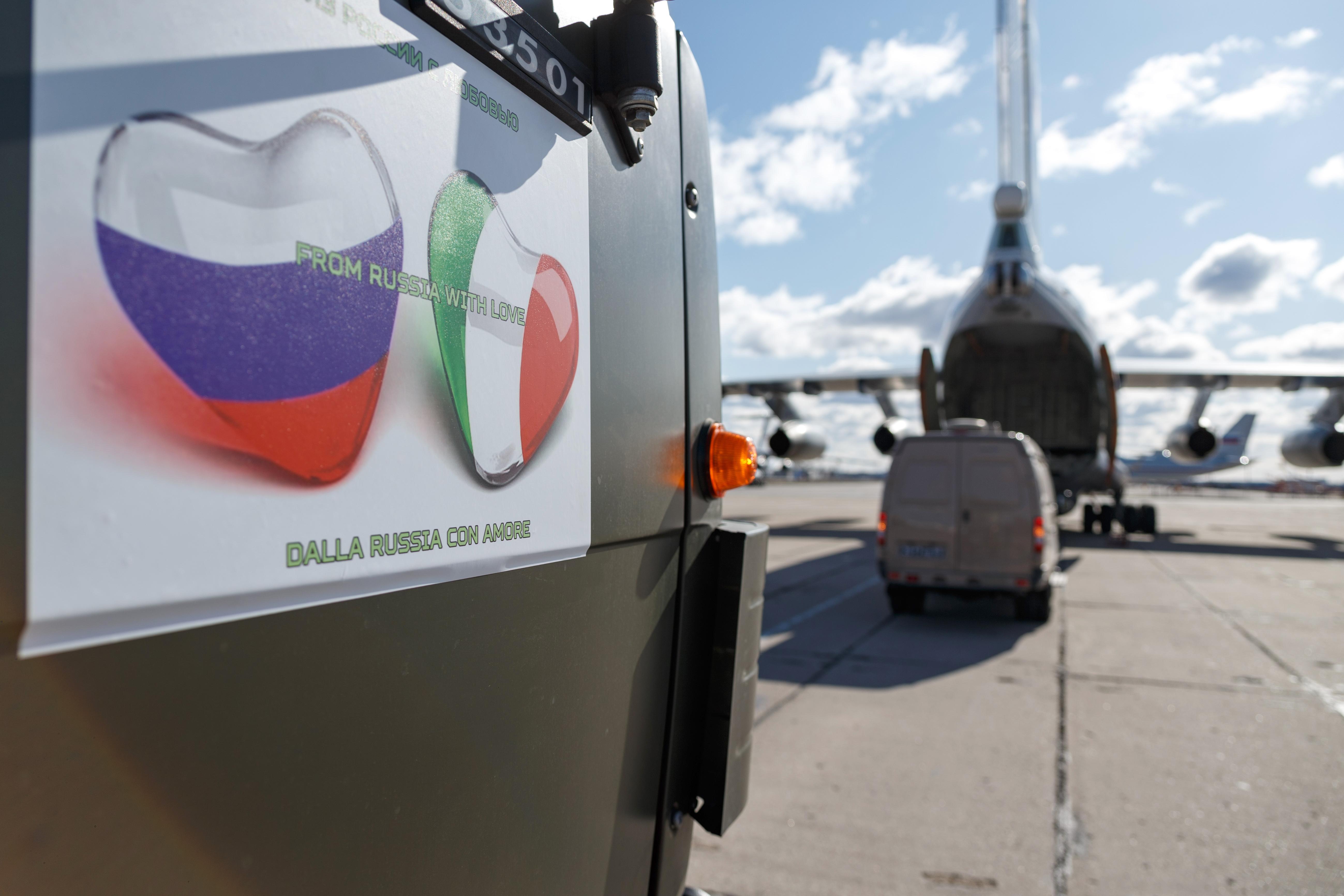 Iz Rusije s ljubavlju: Ruski vojnici  i 80 odsto neupotrebljive pomoći za Italiju