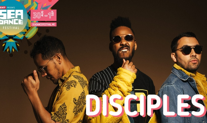 Najtraženiji dens trio ''Disciples'' stiže na Sea Dance