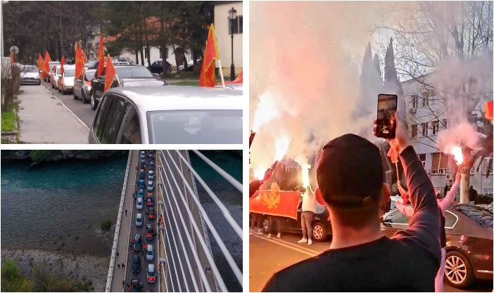 Pogledajte: Auto-kolone u više gradova, ispred Skupštine himna i poruka: Nije ovo Srbija!