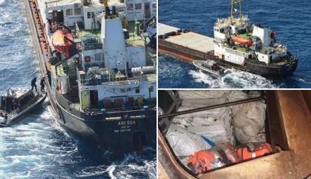 Na brodu pronađene još četiri tone kokaina, uhapšeni i crnogorski državljani