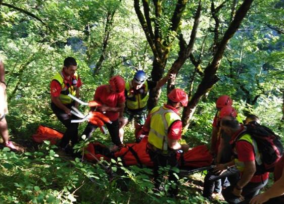Uspješno završena spasilačka akcija u kanjonu Nevidio