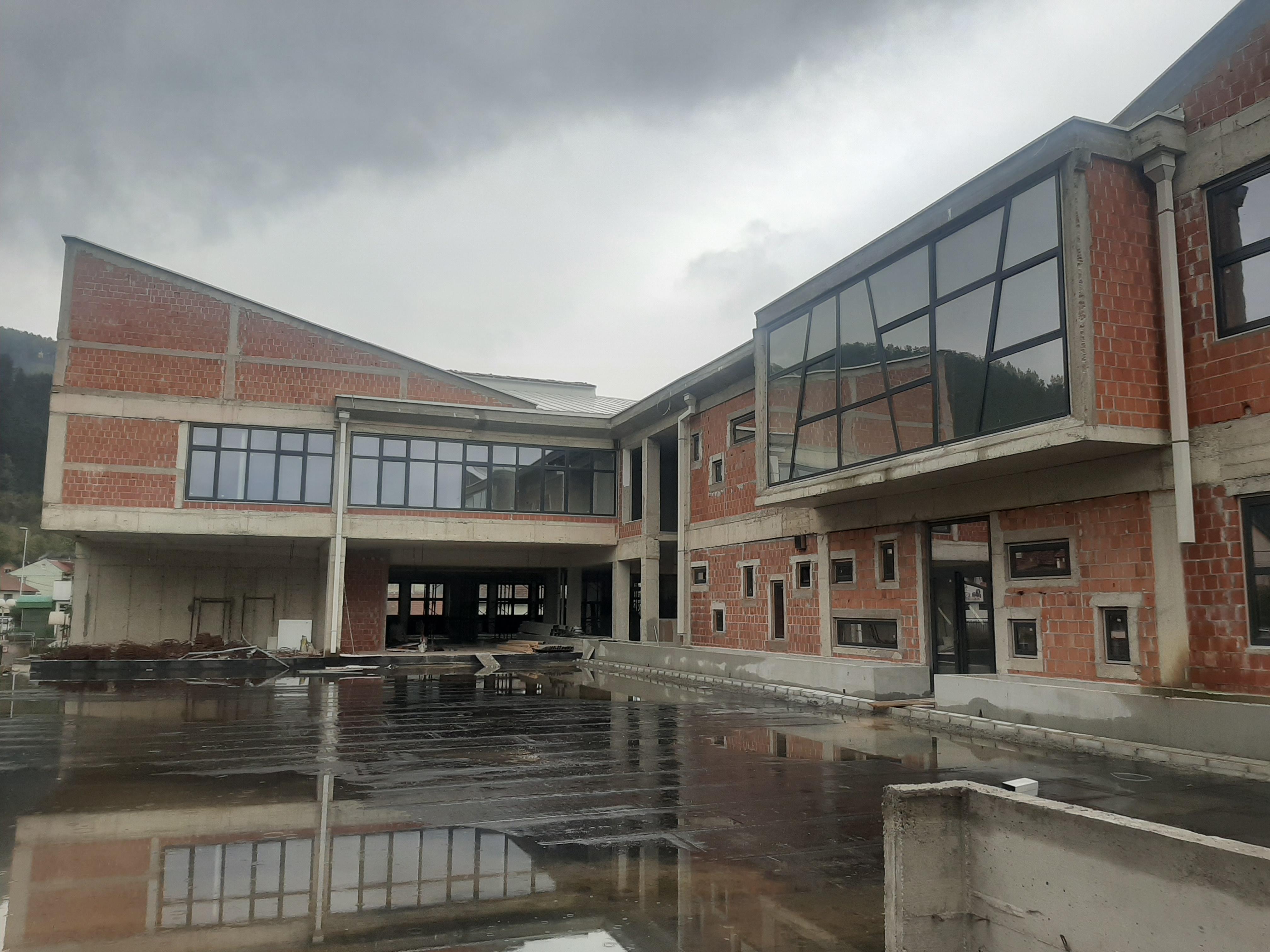 Izgradnja škole u Bijelom Polju nastavljena nakon višemjesečnog zastoja