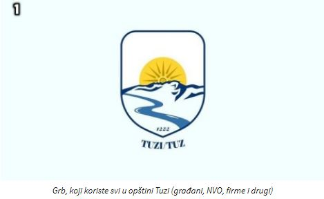 Opština Tuzi izabrala grb
