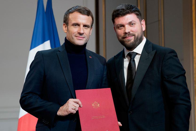 Ivanišević predao akreditivna pisma Makronu