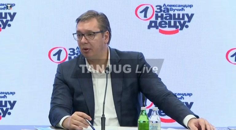Vučić: Ivica Dačić predsjednik Skupštine Srbije, izbori najkasnije u aprilu 2022.