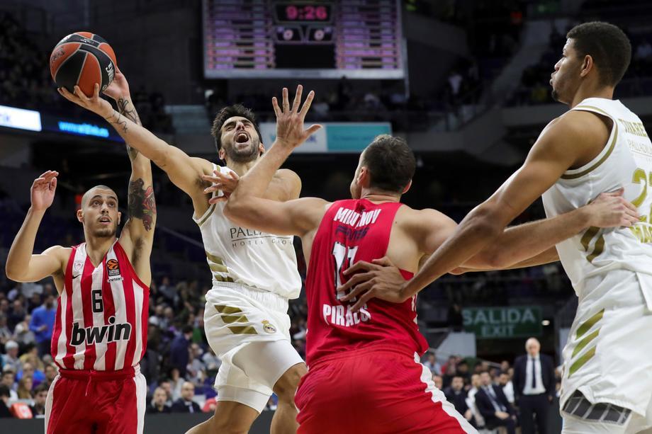 Čas košarke u Madridu – Real lako pobijedio Olimpijakos