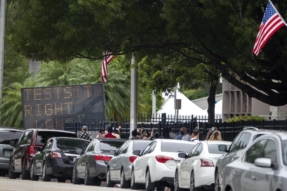 Crni rekord za Floridu, četvrta na svijetu po broju novozaraženih