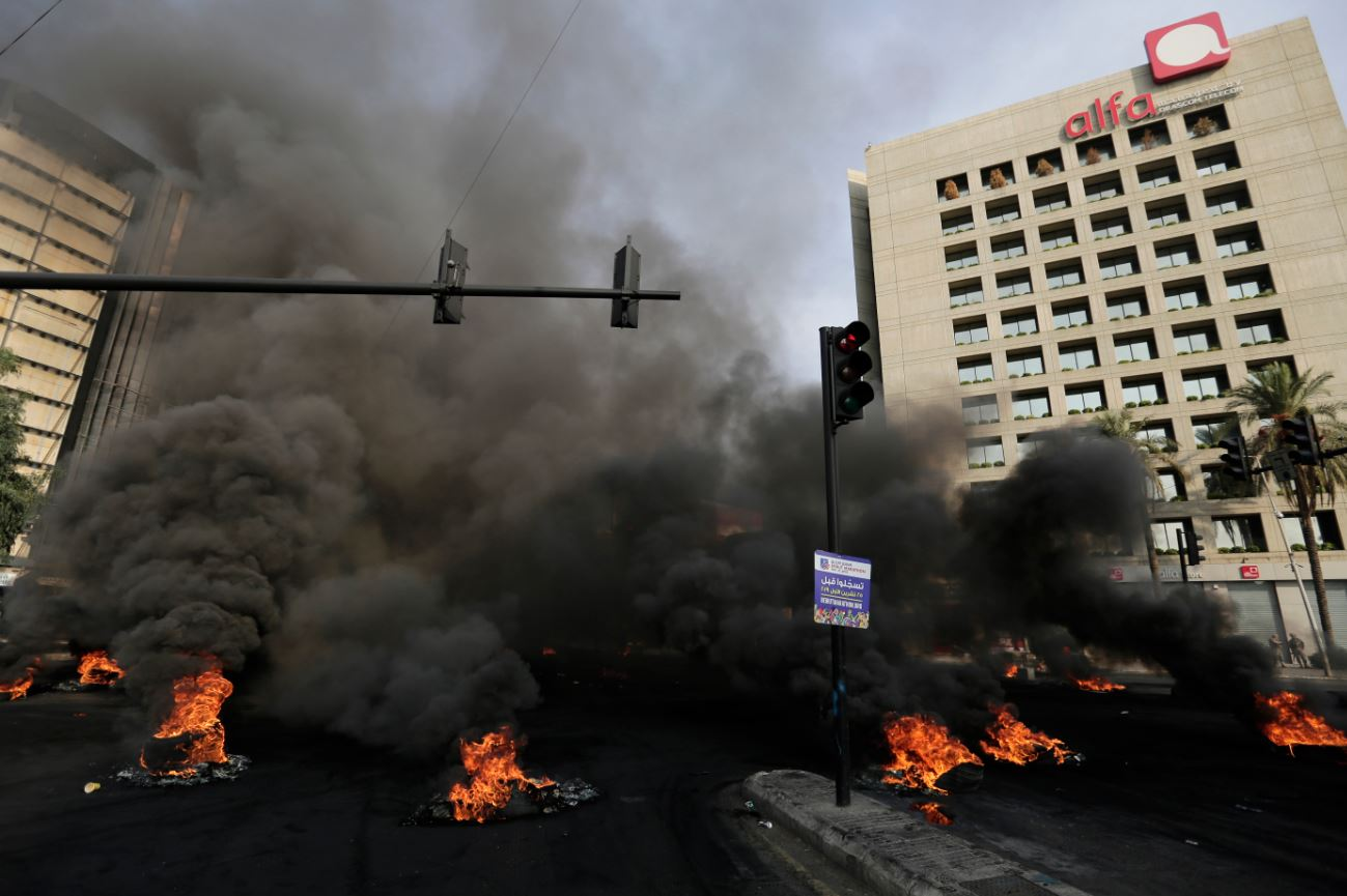 Protesti zbog ekonomske krize paralisali Liban