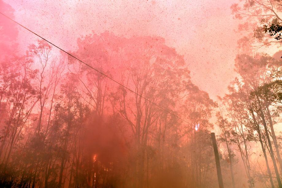 Veliki požar kod Sidneja: U gradu se sve teže diše