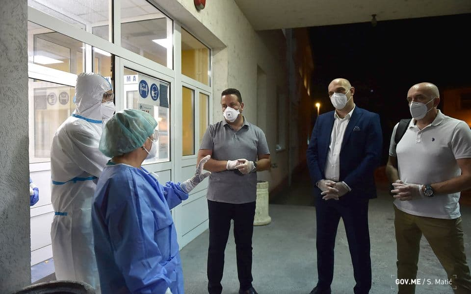 Situacija u Nikšiću stabilizovana, stigli ljekari iz KCCG