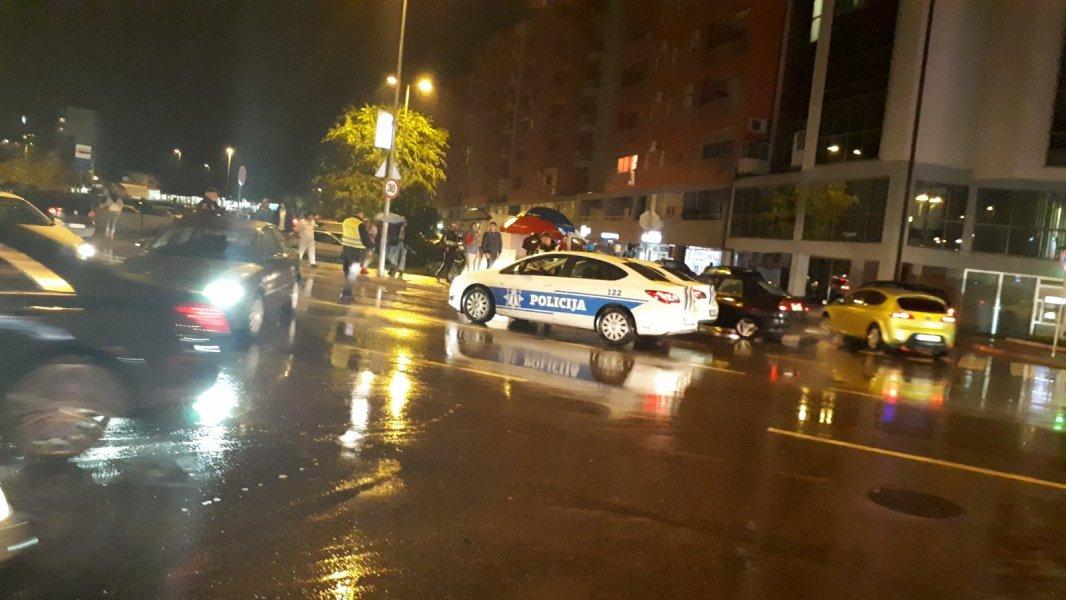 Podgorica: U udesu povrijeđene dvije djevojke