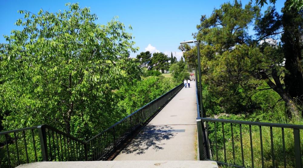 Od sjutra zatvoren pješački most Gazela