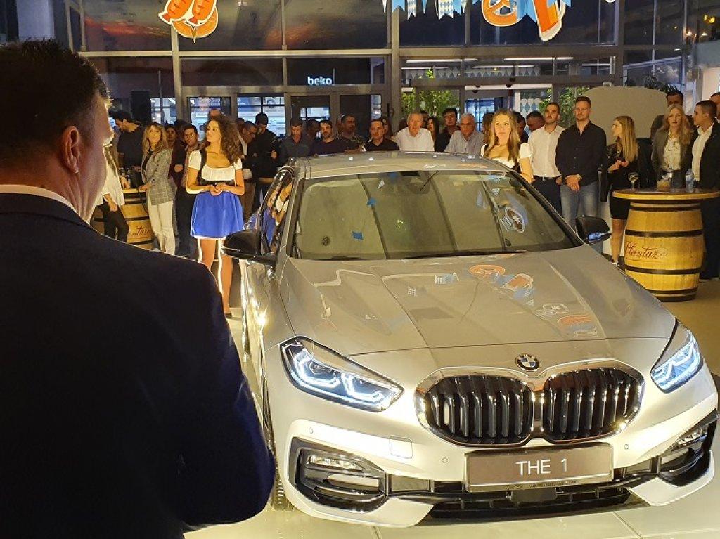 U Podgorici predstavljen THE 1: Potpuno novi BMW Serije 1