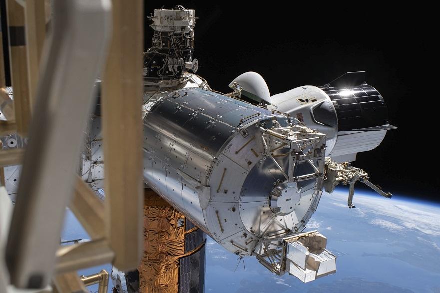Pripreme za povratak kapsule SpejsEksa na Zemlju
