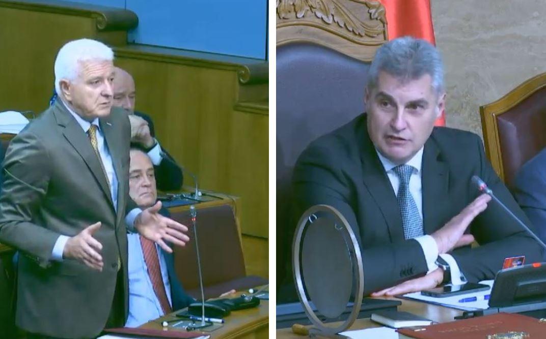 Marković i Brajović polemisali o Aerodromima Crne Gore