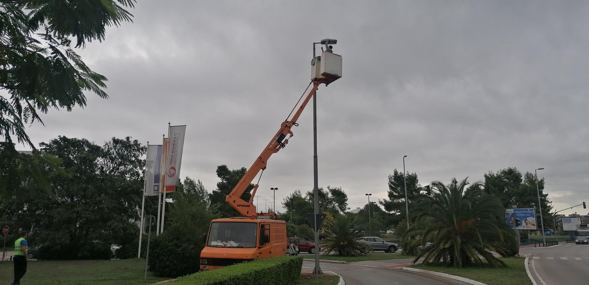 Nova LED rasvjeta u Ulici Ivana Milutinovića