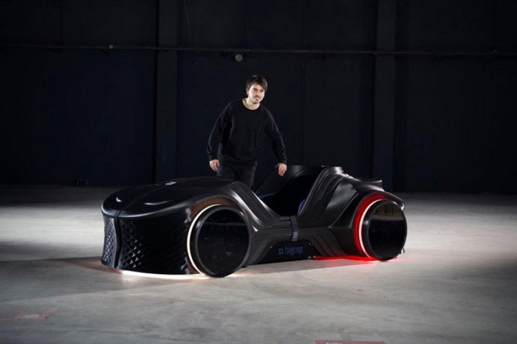 Pogledajte: Prvi automobil iz 3D štampača