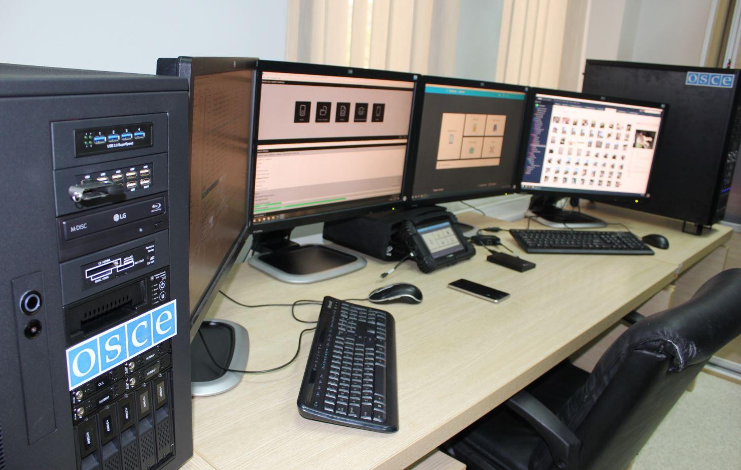 Misija OEBS-a donirala opremu Forenzičkom centru u Danilovgradu