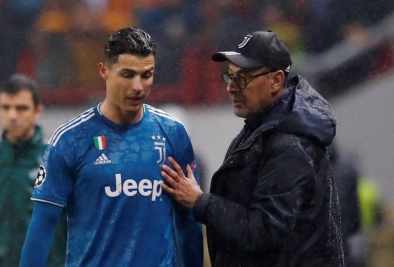 Da li se to Ronaldo naljutio zbog izmjene?