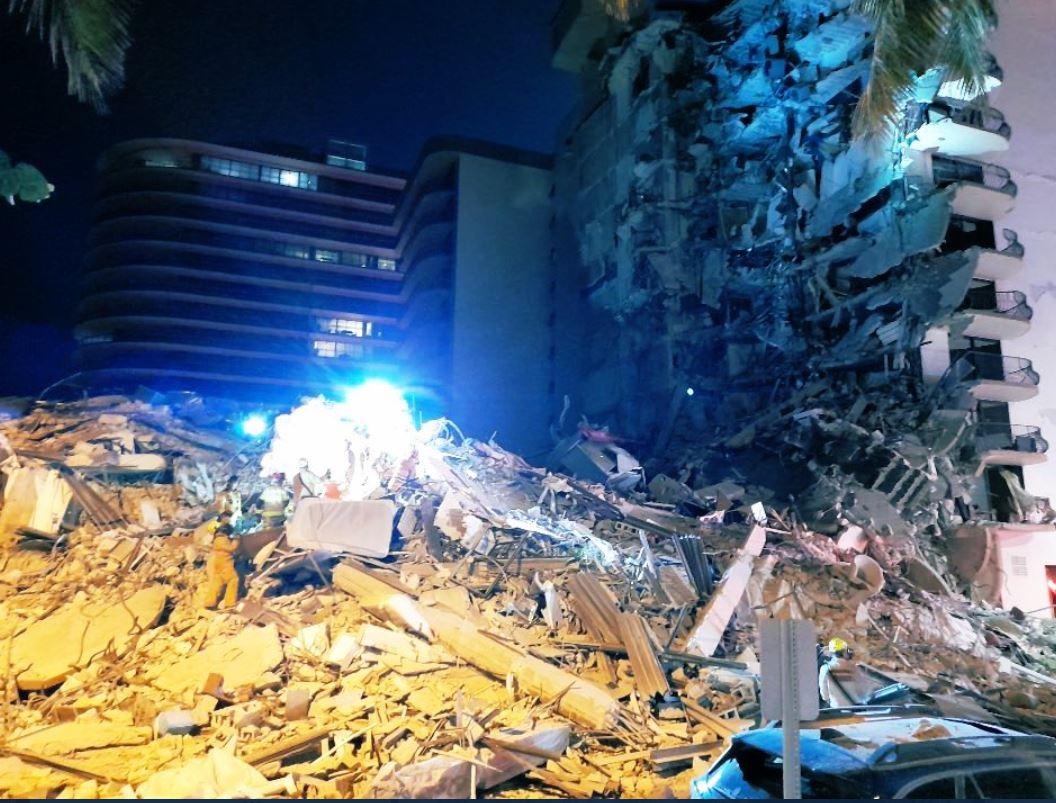 Užas u Majamiju: Srušila se stambena zgrada od 12 spratova