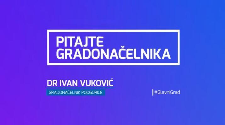 Evo novih odgovora gradonačelnika Vukovića građanima