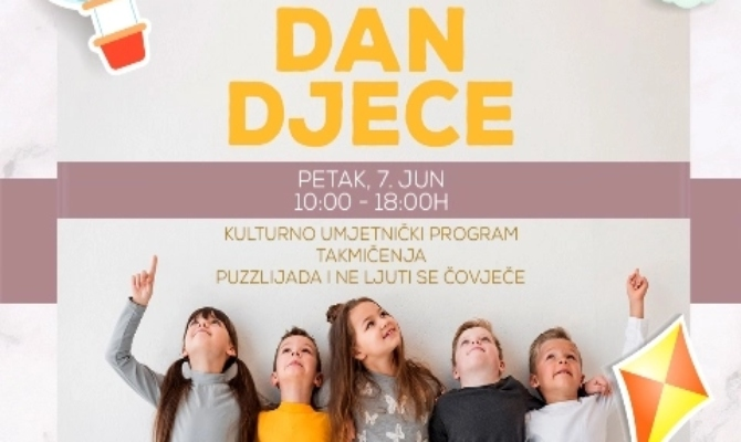 Manifestacija ''Dan djece'' u TC City Mall