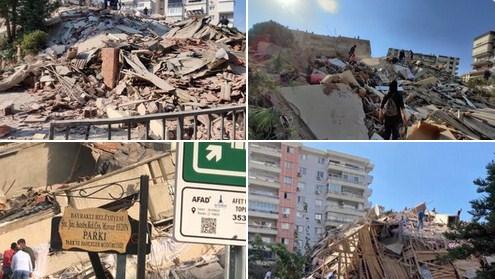 Dva jaka zemljotresa: Raste broj poginulih u Turskoj, preko 400 povrijeđenih