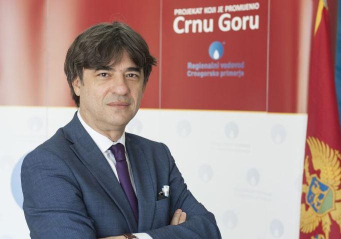 Stav direktora Regionalnog vodovoda Gorana Jevrića