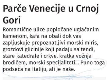 Mali lapsus ili velika Srbija... Čija je Boka Kotorska?