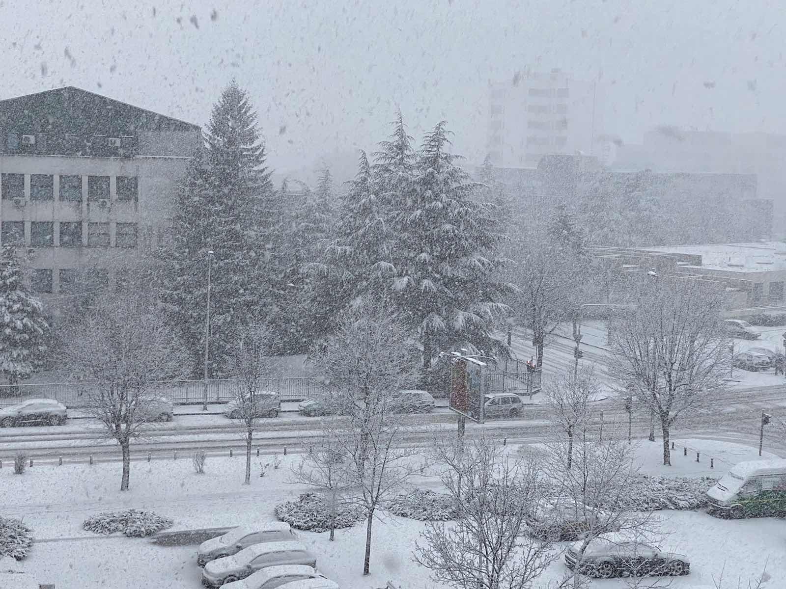 Čitaoci šalju: Snijeg u Nikšiću, Mojkovcu...