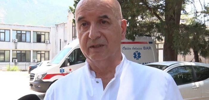 Tri pacijenta preminula u barskoj bolnici, jedan u beranskoj