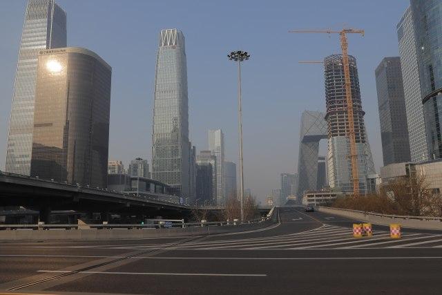 Grad duhova: Ima li ikoga na ulicama Pekinga?