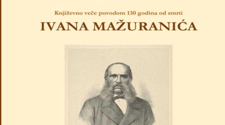 Književno veče posvećeno Ivanu Mažuraniću