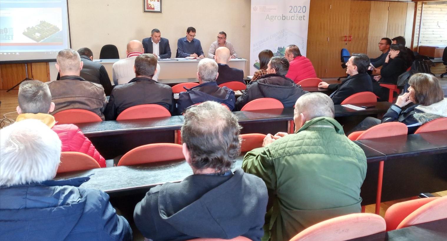 Mjere podrške kroz Agrobudžet predstavljene u Šavniku i Žabljaku