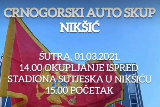 PKS: Ne odustajemo, sjutra auto obilazak Nikšića, polasci iz više gradova