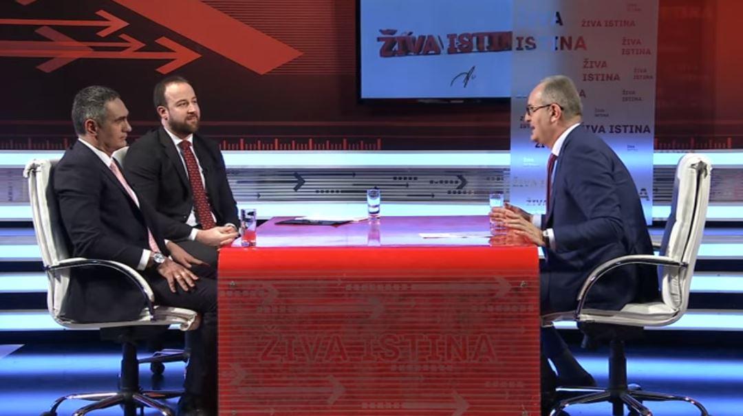 """Pogledajte cijelu emisiju: Damjanović i Nikolić u """"Živoj istini"""""""