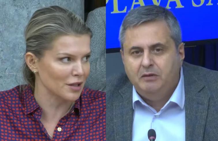 Vuksanović Stanković poručuje Radunoviću: Vi ste izdajnik svoje države; Radunović: Svi su se o jadu zabavili od vas