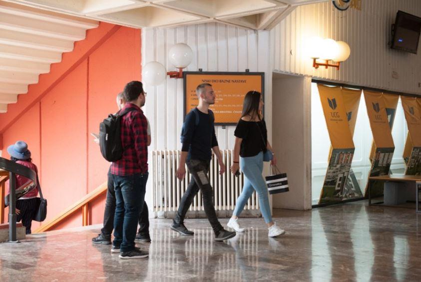 UCG: Za upis na magistarske studije 606 mjesta