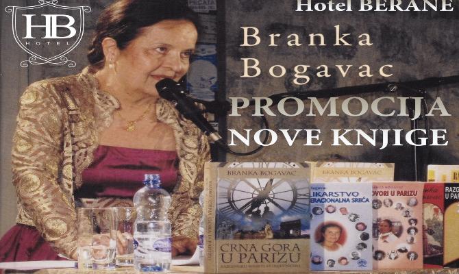 Promocija knjige Branke Bogavac u Beranama