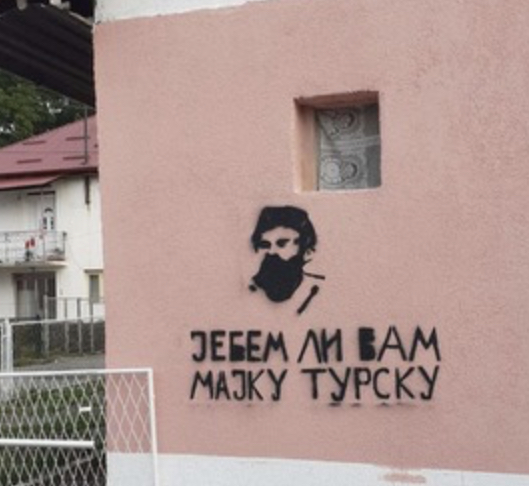 Tužilaštvo: Dat nalog policiji da prikupi dokaze o grafitima u Beranama