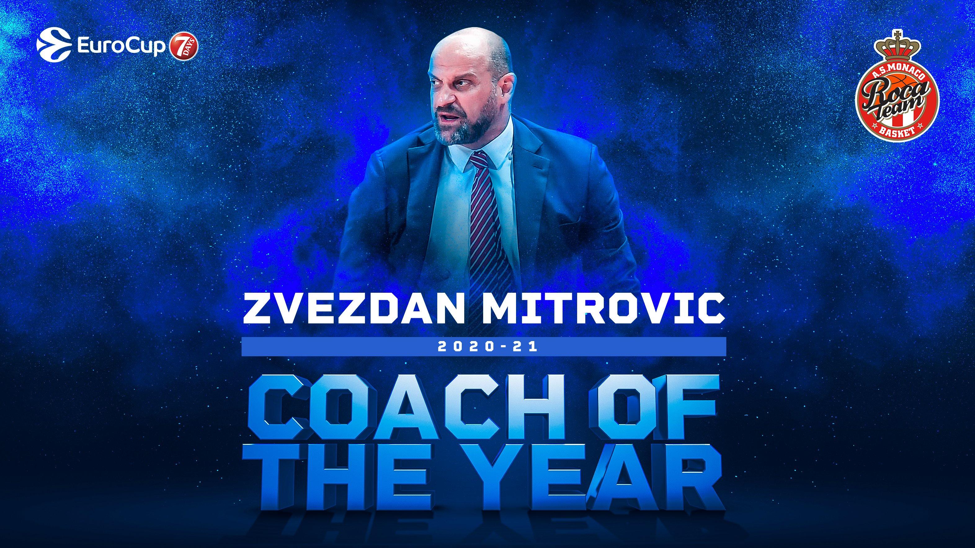 Mitrović najbolji trener Eurokupa